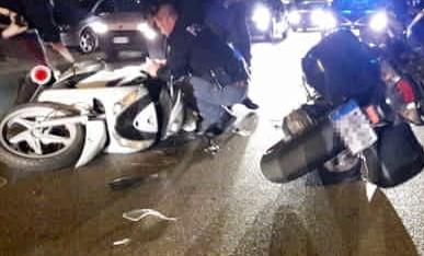 Scontro tra moto, un ferito e 3 morti