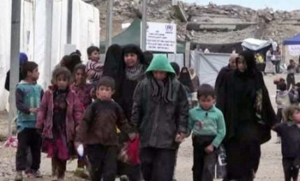 Iraq, dentro il campo profughi di Hammam al-Alil a Mosul