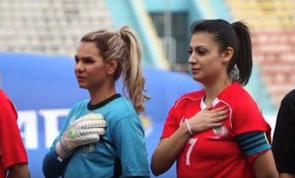 La nazionale di calcio femminile sfida le tradizioni in Palestina