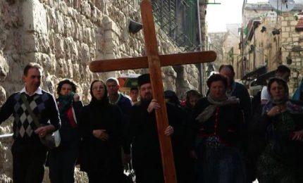 Le processioni di Pasqua nelle strade di Gerusalemme