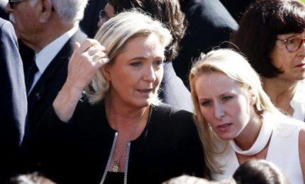 """Marine Le Pen, figlia d'arte sogna vittoria dell'estrema destra. """"Risultato storico"""""""