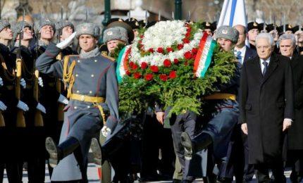 Mattarella: No armi chimiche, Russia usi sua influenza