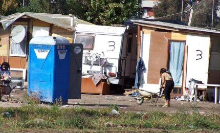 Rom, 28 mila vivono in baraccopoli