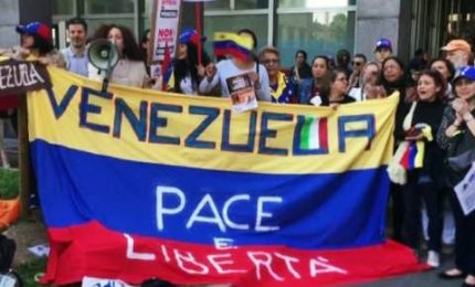 Proteste anti-Maduro, in piazza comunità venezuelana