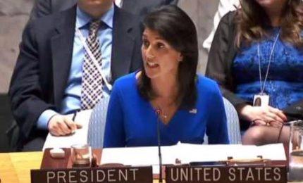 """Usa all'Onu: """"Pronti ad altre azioni""""; e accusano la Russia"""