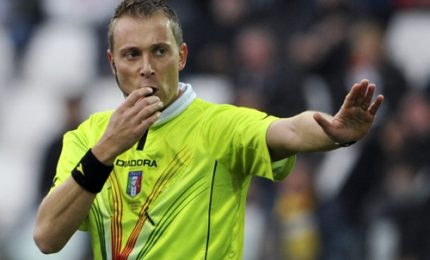 Arbitri Coppa Italia calcio: Valeri per Atalanta-Juve, Milan-Lazio a Guida