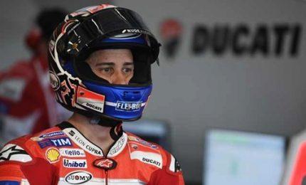 Dovizioso il più veloce nelle prime libere, Lontani Marquez e Valentino Rossi