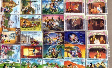 Bolaffi porta a Bologna francobolli e monete Disney, Wwf e Fifa