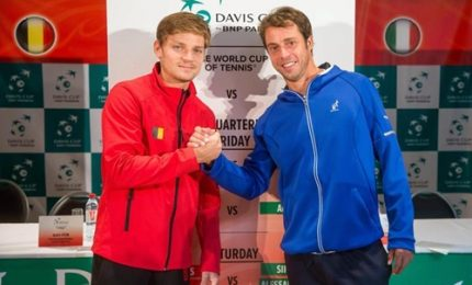 Coppa Davis, Apre Lorenzi-Darcis, poi Seppi-Goffin
