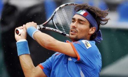 Coppa Davis, Italia-Francia 1-3. Fognini ko