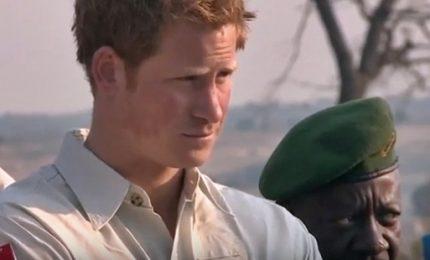 """Il principe Harry: """"Seguo mia madre e combatto le mine antiuomo"""""""