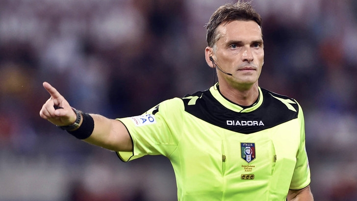 Arbitri: Irrati per Lazio-Napoli, Juventus-Chievo a Fabbri