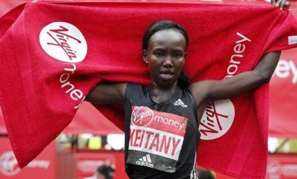 Record mondiale per la Keitany, trionfo Kenya