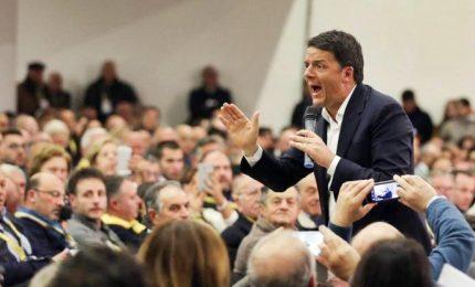 Renzi già parla da segretario, nel mirino i Cinquestelle. E avvia campagna elettorale