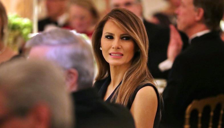 Melania Trump a Catania: outfit da capogiro