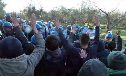Gasdotto Puglia, abbattute le barricate al cantiere