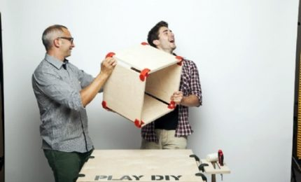 Fuorisalone, con PlayWood un arredamento componibile come i Lego