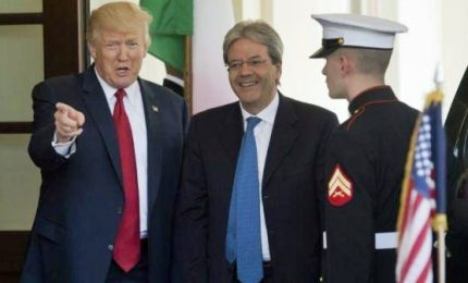 Gentiloni-Trump, Italia e Usa alleati contro terrorismo. Appuntamento a Taormina