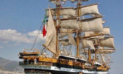 L'Amerigo Vespucci pronta a salpare con i marinai del futuro
