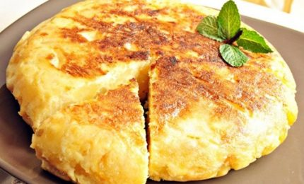 Antipasto o secondo, dalla Spagna la tortilla di patate