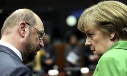 """Schulz: crisi dei migranti è """"esplosiva"""". Proposte all'Italia"""