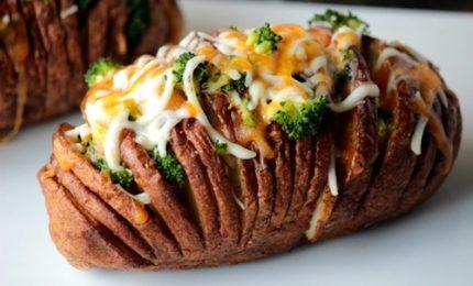 Dalla tradizione svedese la ricetta delle patate hasselback