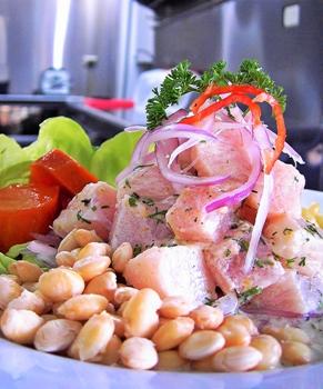 """Un piatto fresco dal Perù, il """"Ceviche"""""""