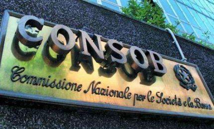 Borsa, dopo due mesi Consob sospende il divieto di short selling
