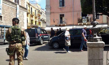Taormina blindata, imponenti misure sicurezza per G7