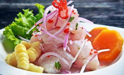 Il ceviche, a tavola il piatto nazionale peruviano