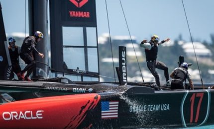 Oracle-New Zealand apre America's Cup