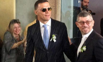 Scalfarotto si è unito civilmente a suo compagno Federico a Milano