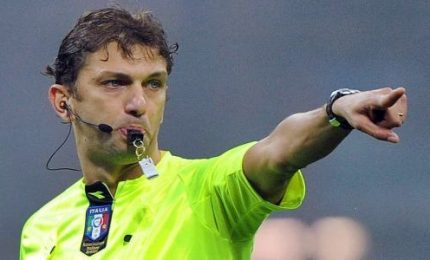 Arbitri serie A, Tagliavento per Roma-Juventus