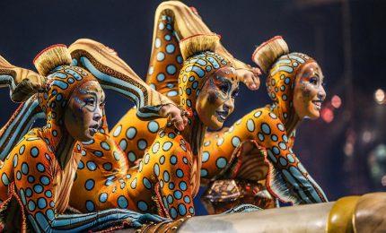 Cirque du Soleil a Roma, magie acrobazie e femminilità