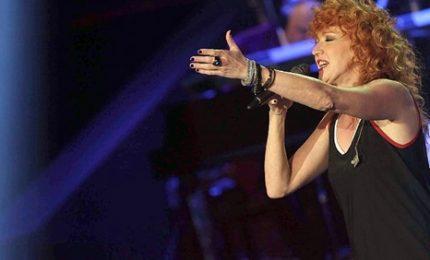 Fiorella Mannoia ospite del festival di Sanremo