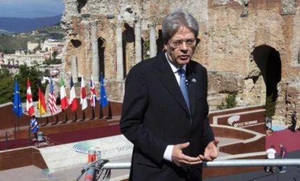 G7, il videomessaggio di Gentiloni