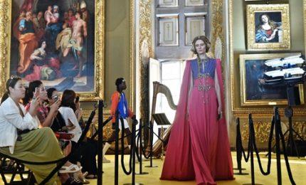 Gucci sfila a Palazzo Pitti a Firenze, tra Rinascimento e rock