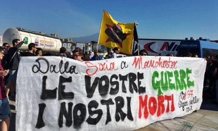 G7, corteo di protesta in marcia a Giardini Naxos