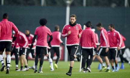 Ultimo allenamento della Juve prima di Monaco