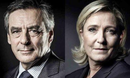 Francia, il discorso di Le Pen copiato da quello di Fillon