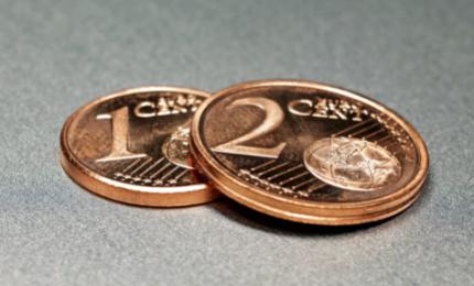Addio monetine da 1-2 cent dal 2018, pagamenti verranno arrotondati