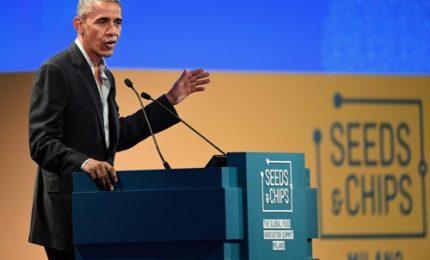 """Obama a Milano: """"Ci vedrete spesso in Italia"""""""