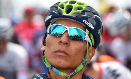 Quintana tappa e maglia rosa