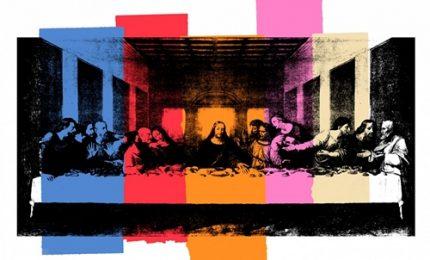 A Milano Andy Warhol reinterpreta Leonardo