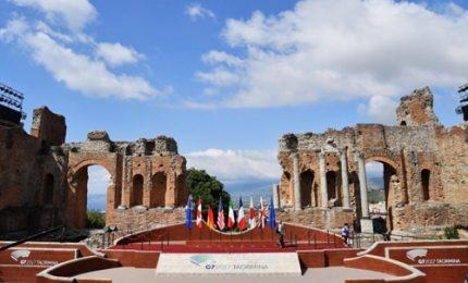 G7 Taormina, al via cerimonia inaugurale al Teatro Greco