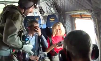 G7, per first lady giro in elicottero sulla Sicilia. Melania non c'è