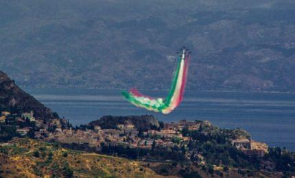 G7, nel cielo di Taormina le Frecce tricolori
