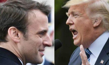 Incontro Trump-Macron 25 maggio a margine vertice Nato