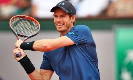 Roland Garros, Murray ai quarti. Dedica alle vittime di Londra