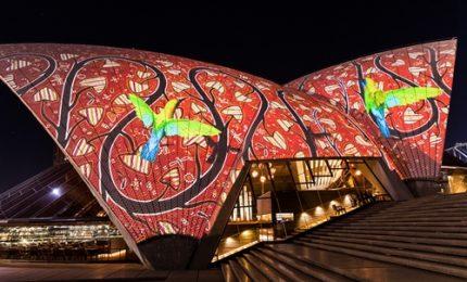 Sydney, Giochi di luce in omaggio agli aborigeni